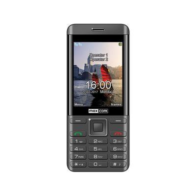 Maxcom MM236 Dual SIM Negro/Plateado