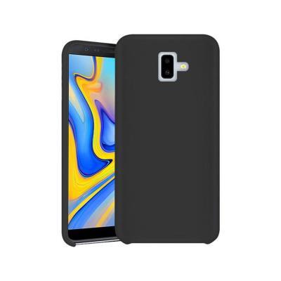 Funda Silicone Premium Samsung J6 Plus 2018 Negro