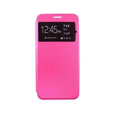 Flip Cover Case Samsung A6 2018 A600 Pink
