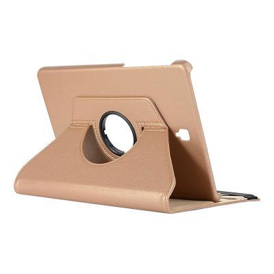 Capa Flip Cover Samsung Tab E T560 Dourada