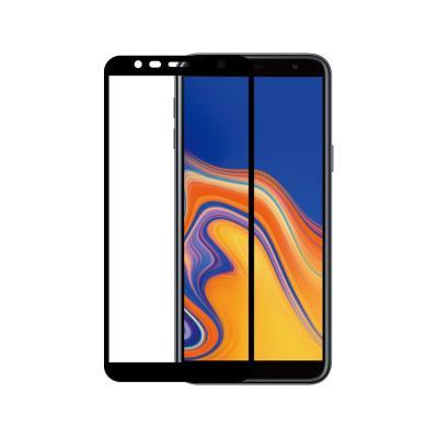 Tempered Glass Film Samsung J4 Plus J415 Fullscreen 5D Black