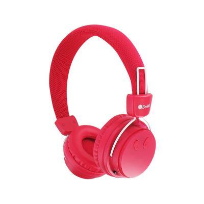 Auscultador BeeWi Bluetooth Rosa