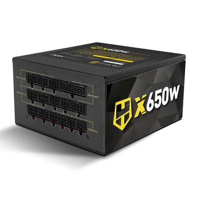 Fonte de Alimentação Nox Hummer X Series Modular 650W 80 Plus Gold