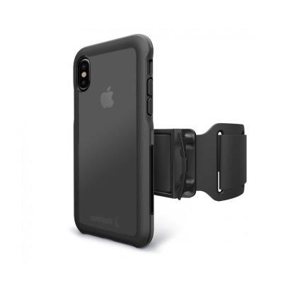 Armband BodyGuardz iPhone X Preta