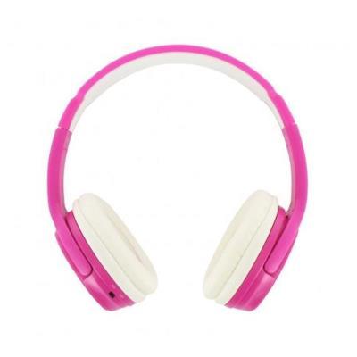 Auscultador Bluetooth BeeWi Rosa/Branco
