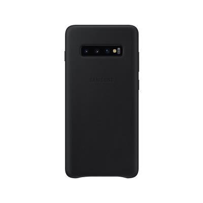 Capa de Pele Original Samsung Galaxy S10 Plus Preta (EF-VG975LBE)
