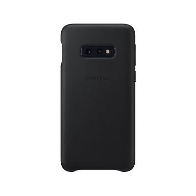 Funda de Piel Original Samsung Galaxy S10e Negra (EF-VG970LBE)