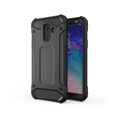 Protective Armor Cover Forcell Samsung A6 2018 A600 Black