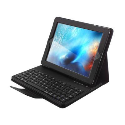 Capa iPad 2/3/4 com teclado Bluetooth Preta