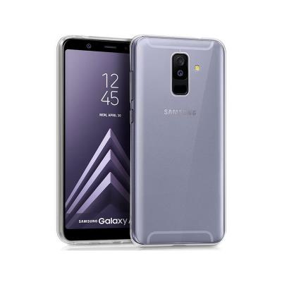 Silicone Cover Samsung Galaxy A6 Plus A605 Transparent
