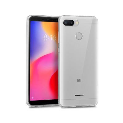 Capa Silicone Xiaomi Redmi 6 Transparente