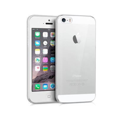 Capa Silicone iPhone 5S/SE Transparente
