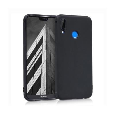 Silicone Cover Premium Huawei P20 Lite Black