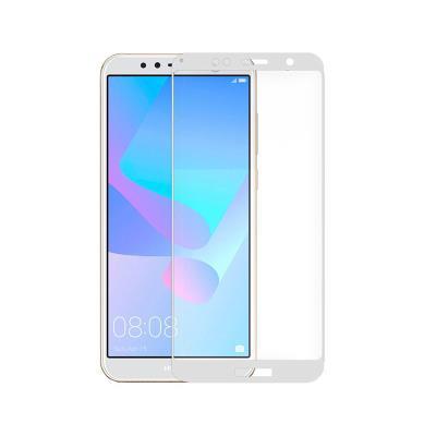 Película de Vidrio Temperado Huawei Y6 2018/Honor 7A 3D Blanca