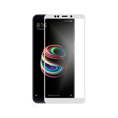 Película de Vidro Temperado Xiaomi Redmi 5 Plus 3D Branca