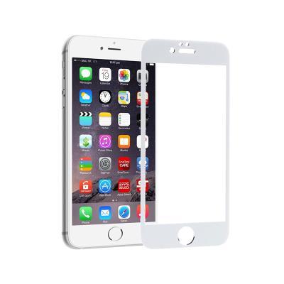 Película de Vidrio Temperado iPhone 6S Plus 5D Blanca