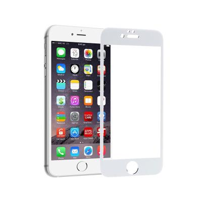 Tempered Glass Film iPhone 6S Plus 5D White