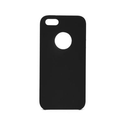 Capa Silicone Premium iPhone 5S/SE Preto