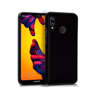 Silicone Cover Huawei P20 Lite Black