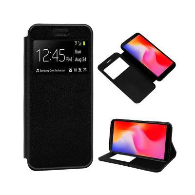 Funda Flip Cover Magnética Xiaomi Redmi 6 Negra