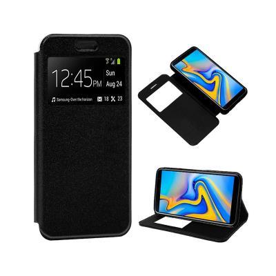 Capa Flip Cover Samsung J6 Plus 2018 J610 Preta