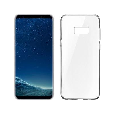 Funda Silicona Okkes Samsung Galaxy S8 Plus G955 Transparente