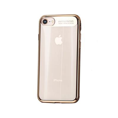 Capa Silicone Usams iPhone 7/8 Dourada