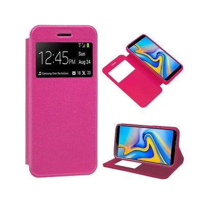 Flip Cover Samsung J6 Plus 2018 J610 Pink