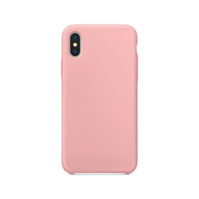 Capa Silicone Premium iPhone X/XS Rosa