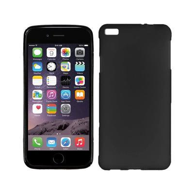 Capa Silicone iPhone 6 Plus Preta
