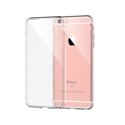 Silicone Cover Iphone 6 Plus Transparent