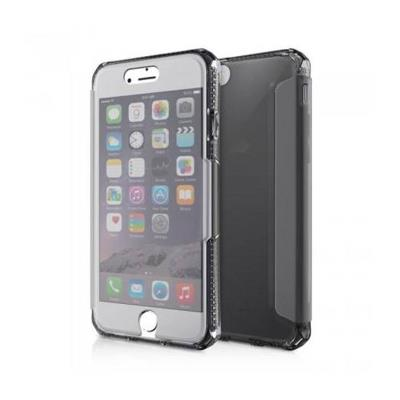 Silicone Cover Clear View iPhone 7/8 Shockproof Black