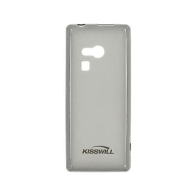 Silicone Cover Nokia 216 Transparent Dark