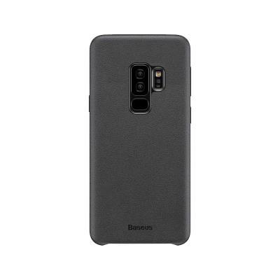 Cover Baseus Alcantara Samsung S9 Plus Black (G965)