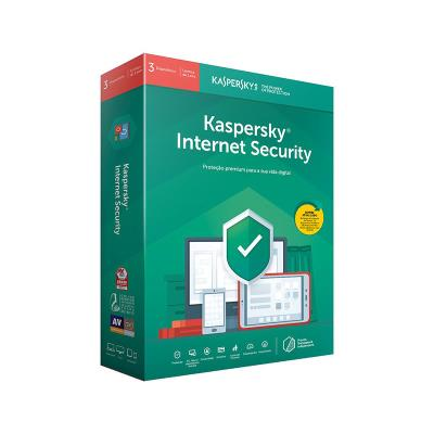 Kaspersky Internet Security 2019 3 User 1 Ano