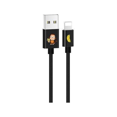 Cable Datos USAMS Lightning Negro