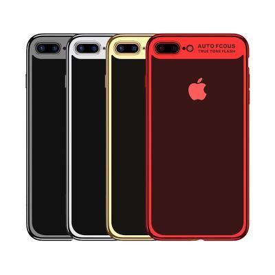 Funda Silicona Usams iPhone 7/8 Plateada