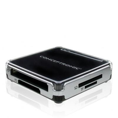 Lector de tarjetas USB 2.0 Conceptronic (CMULTIRWU2)