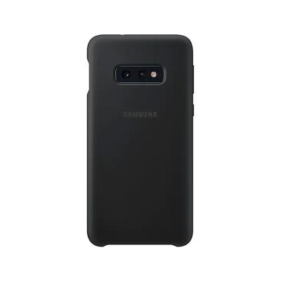Silicone Cover Original Samsung S10e Black (EF-PG970)