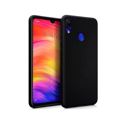 Capa Silicone Xiaomi Redmi Note 7 Preta