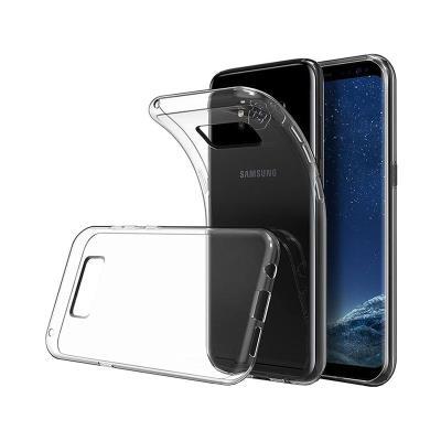 Funda Silicona Samsung Galaxy S8 Plus G955 Transparente