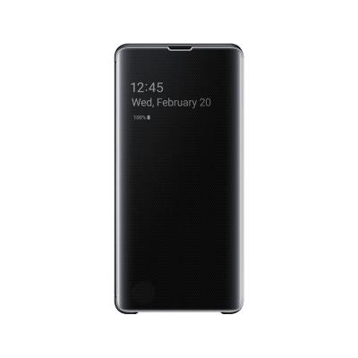 Clear View Cover Original Samsung Galaxy S10 Plus Black (EF-ZG975CBE)