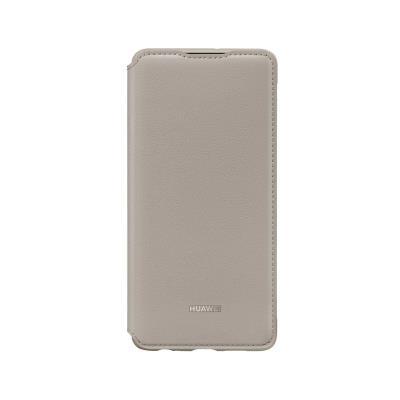 Flip Wallet Cover Original Huawei P30 Khaki