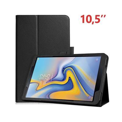 Capa Couro Samsung Tab A T590/T595 Preta